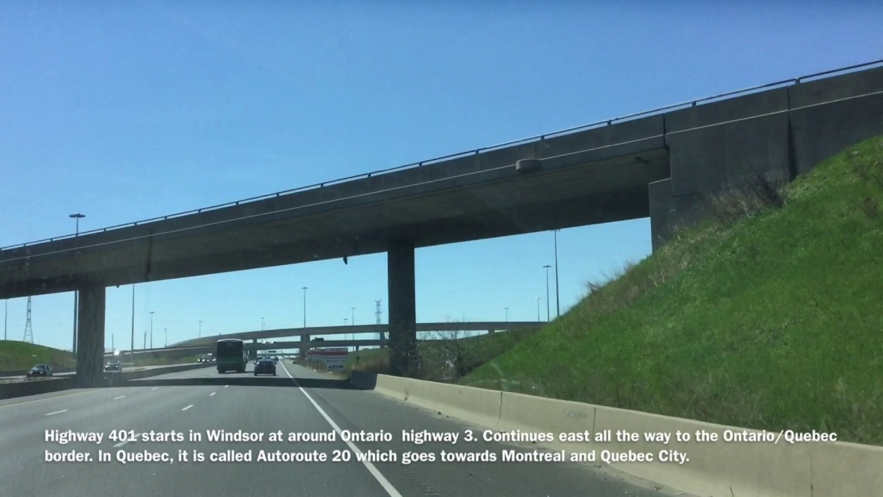 Mississauga Toronto 401 Escort Canadian Road