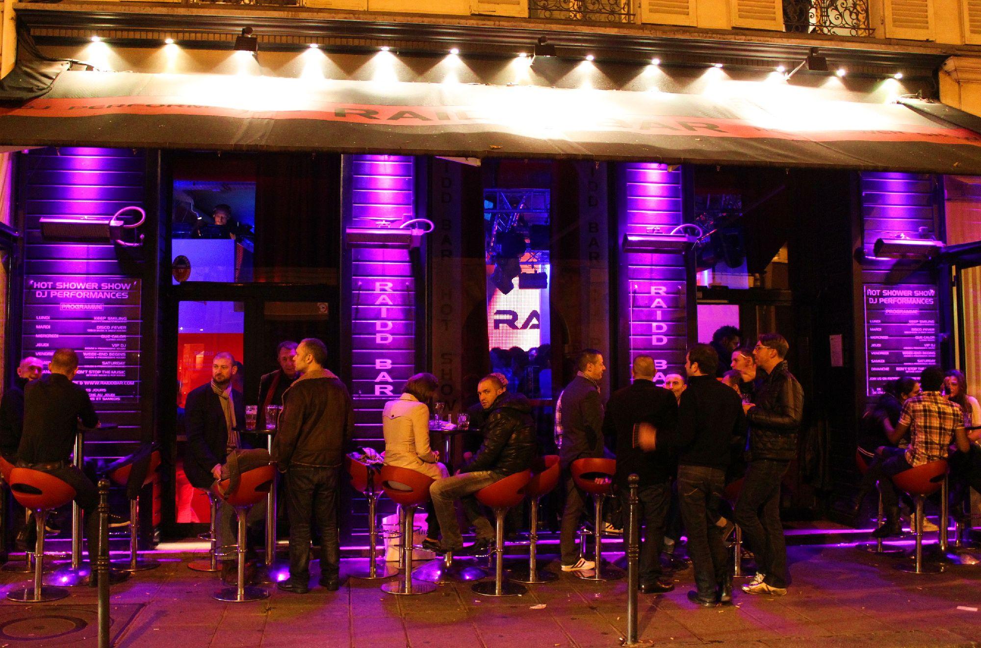 Bar Paris Gay Raidd