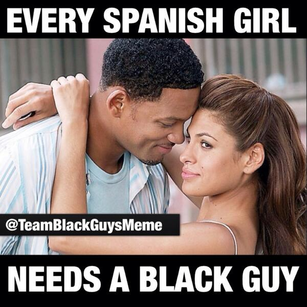 Black Dating Spanish Photos