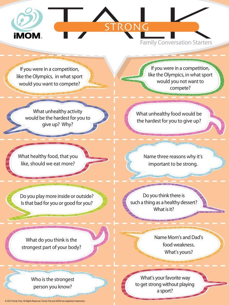 Expert Conversation Starters Online 6