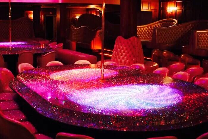 Showgirls Club Vu Angeles Deja Los Strip
