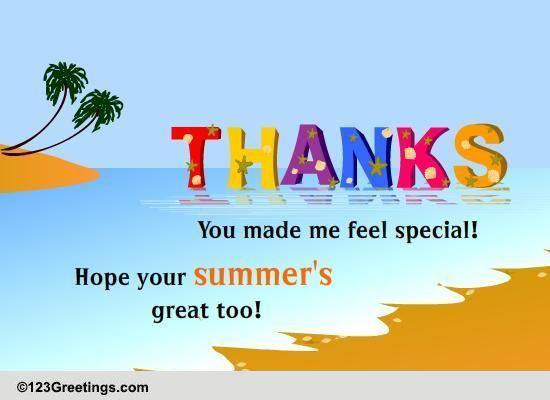 Simply Summer Thank U
