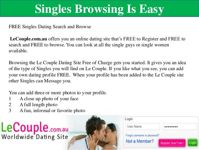 Dating Site First