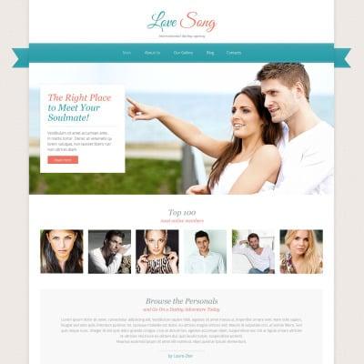 Site Design Dating Website