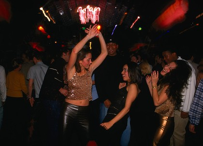 In Night In France Ahmedabad Club Girls