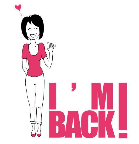 Retour De Girl Suis Back/je