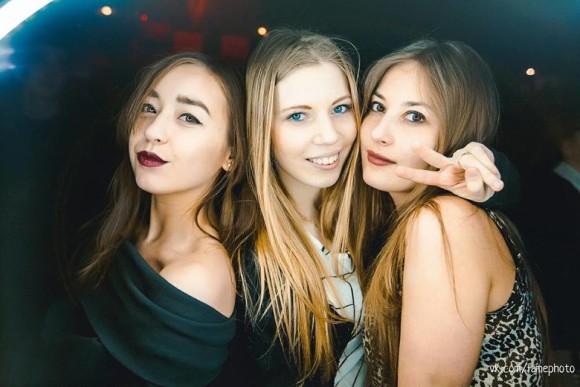 Girls In Night Club In Saint Petersburg Russia
