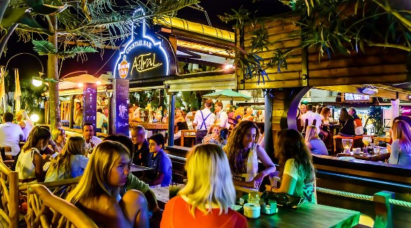 Abilene Club Marbella Premier Lounge Strip