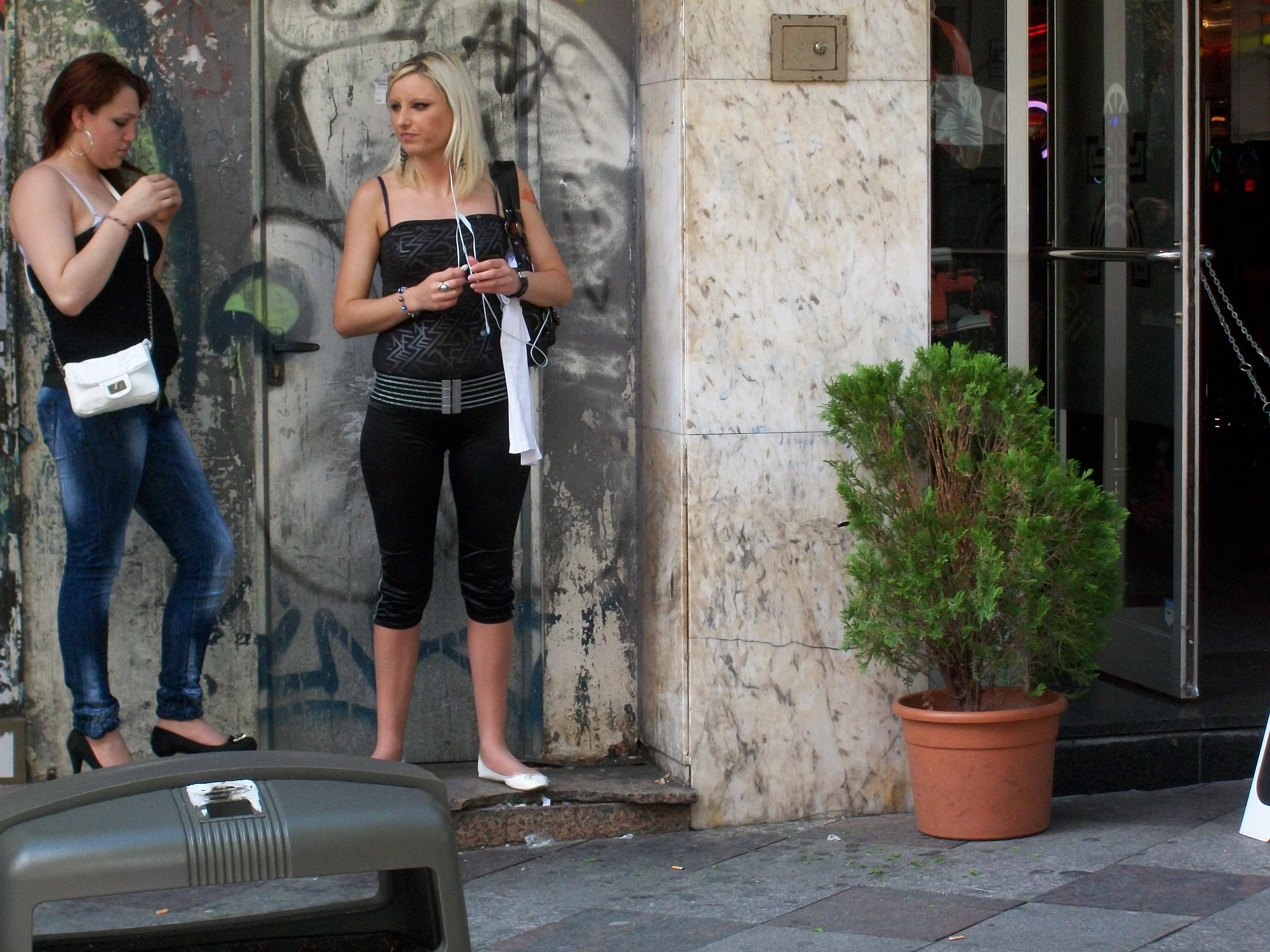 In Spain Prostitution