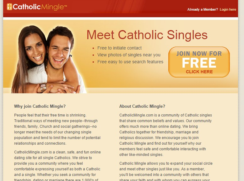 Catholic Hookup Divorced Dating