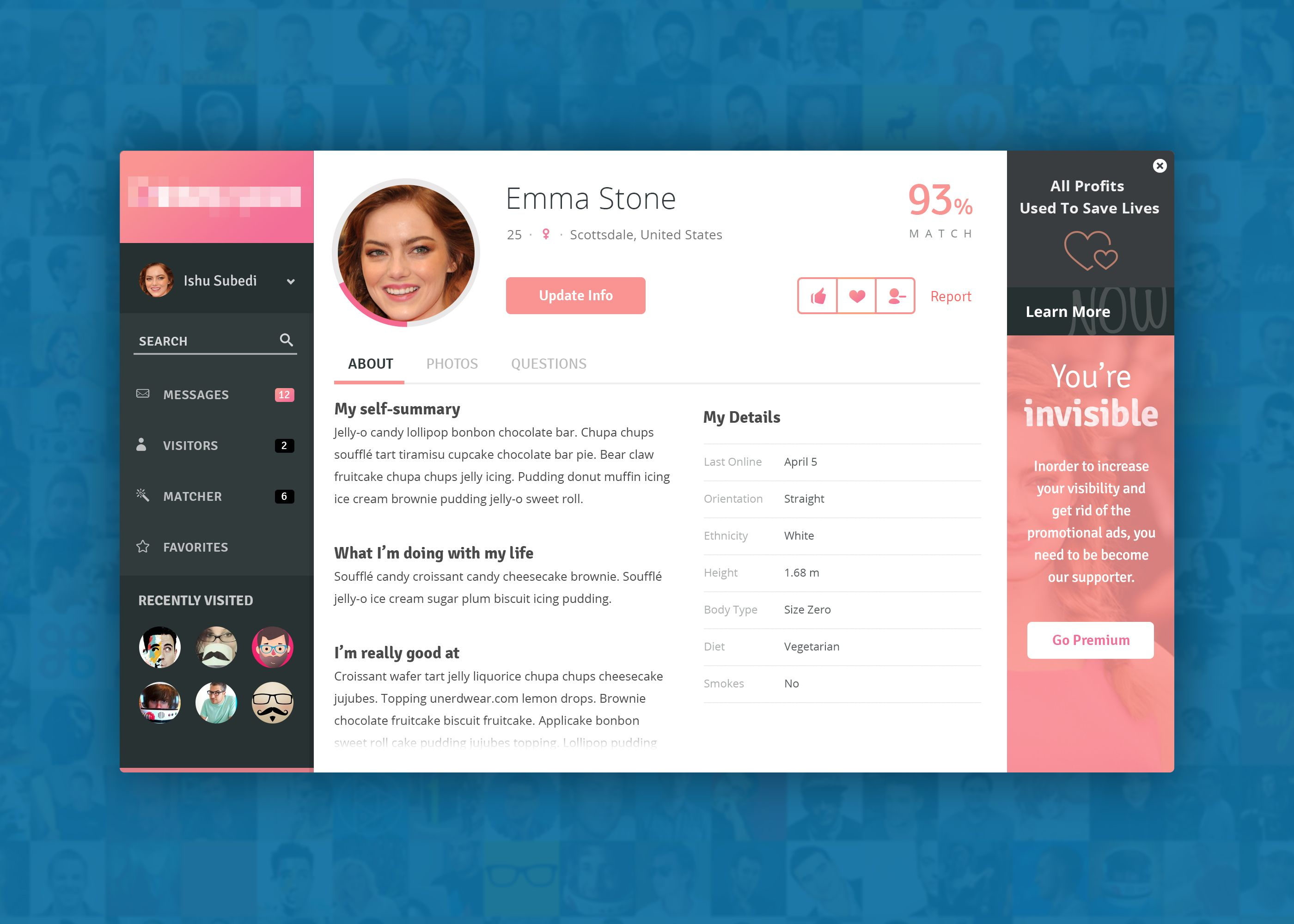 Website Design Site Dating