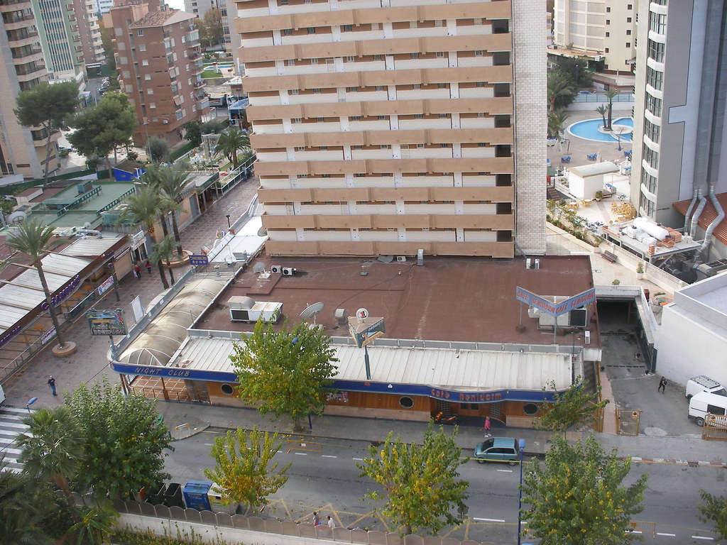 Southern Club Benidorm Spain In Strip