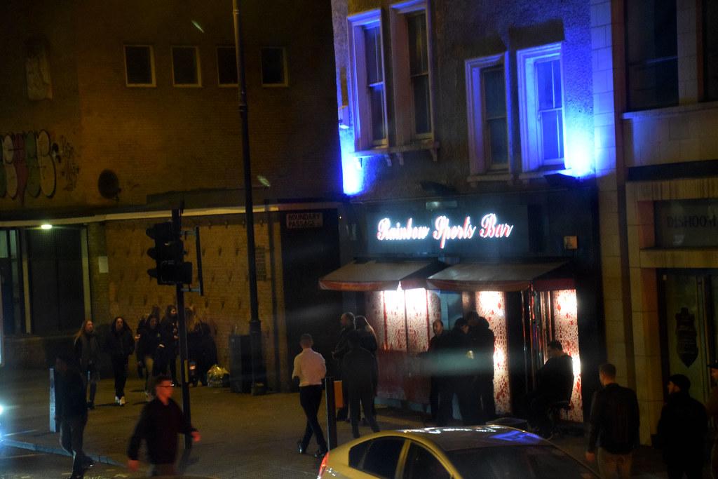 Rainbow Sports Bar London Strip Club