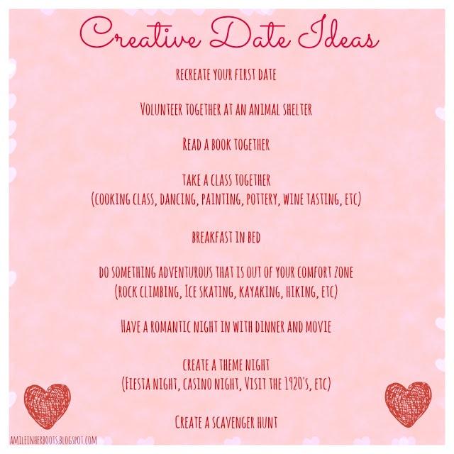 7 Creative Date Ideas