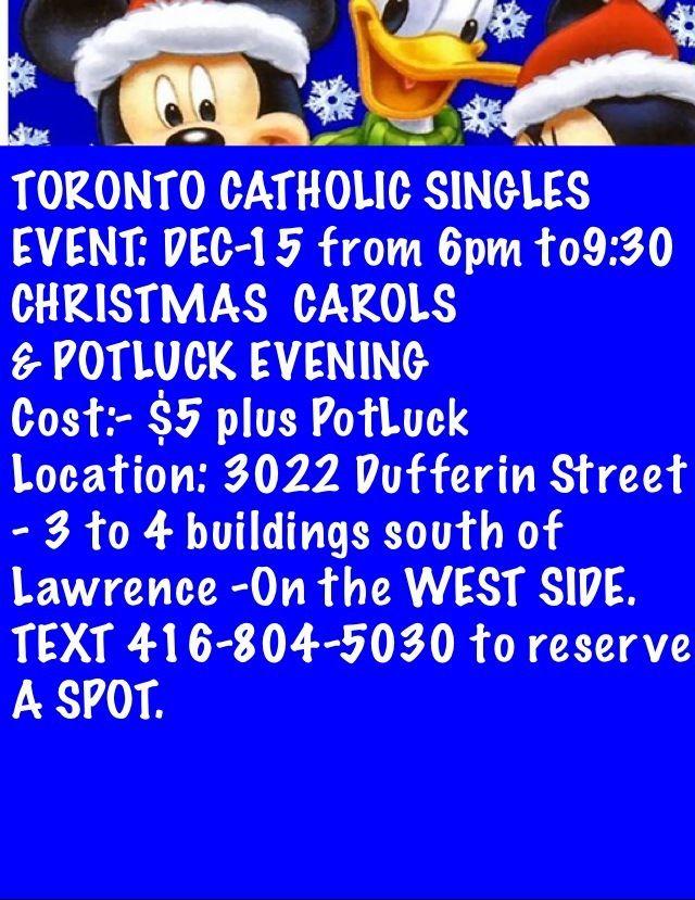 Singles Dating Catholic In Toronto Fling