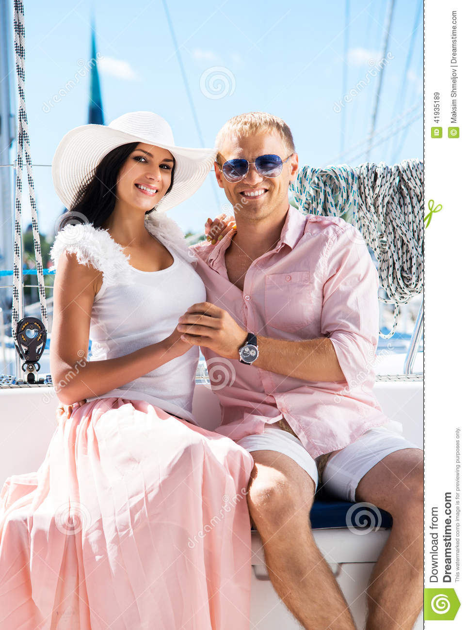 Attractive Beautifu Wealthy A Couple For Looking