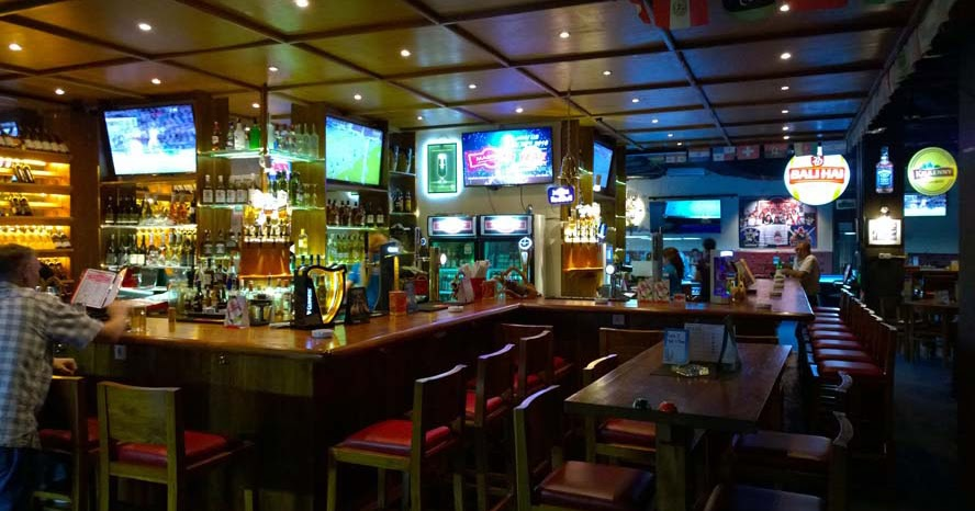 Beer Garden Dart Addicts Sports Bar