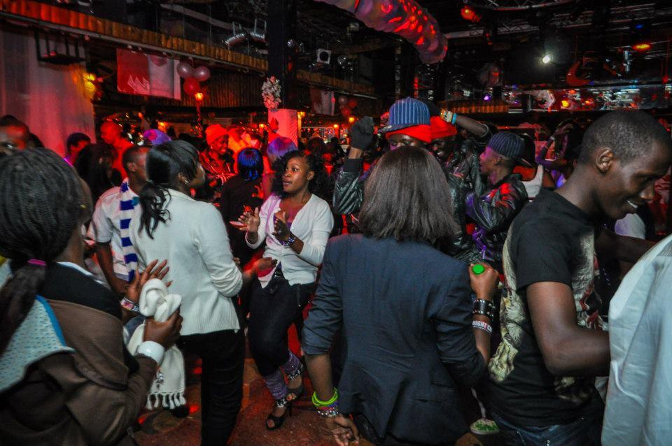 Punk In Kenya Mombasa In Club Girls Night