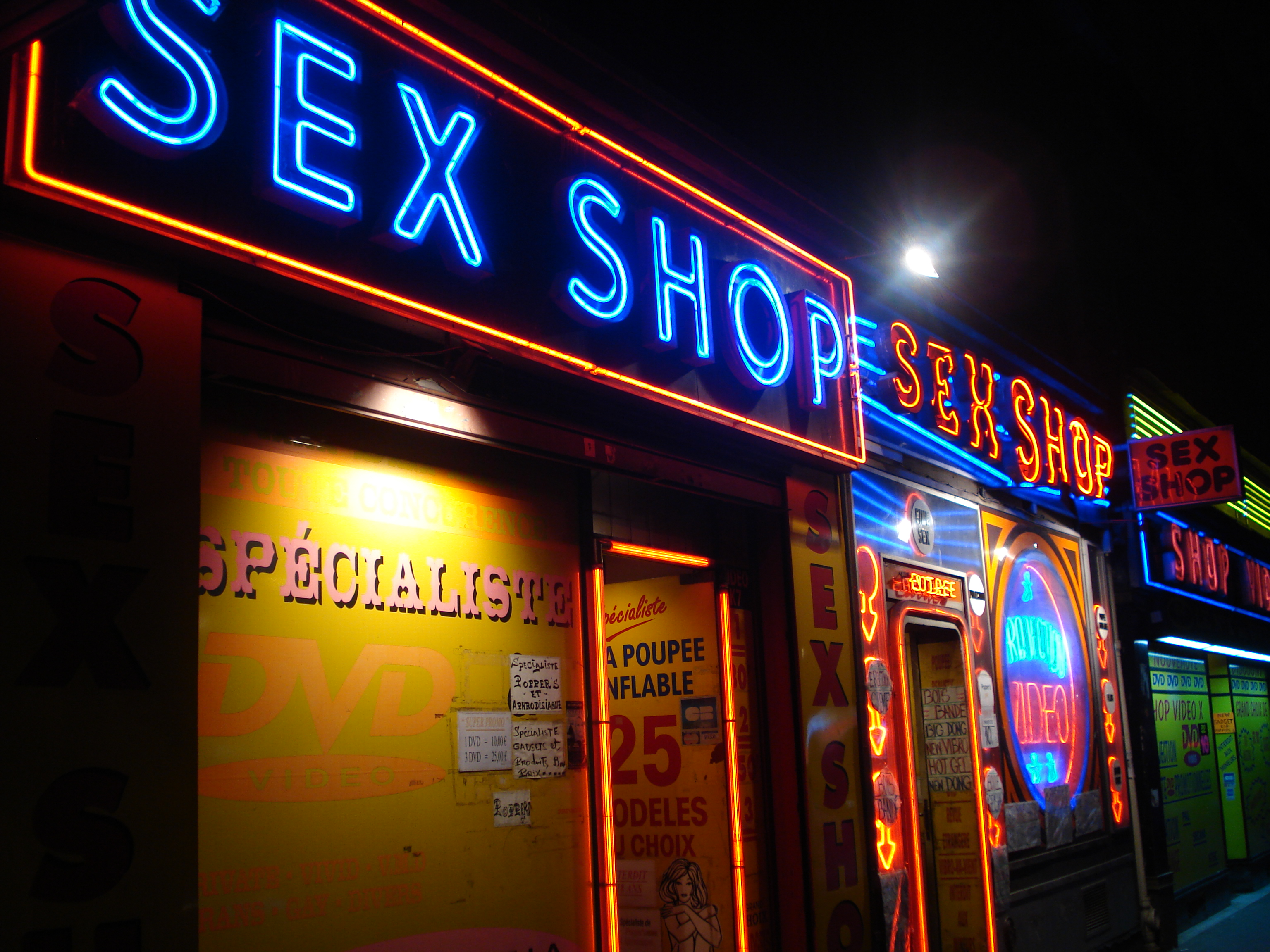 Shops Paris Sex Toy