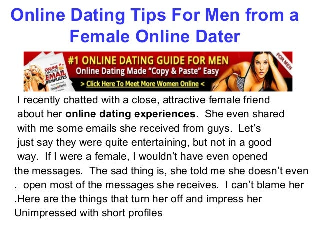 Dating Advice Online Guys Free For