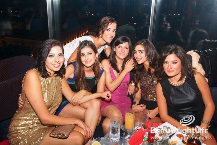 Girls In Night Club In Beirut Lebanon