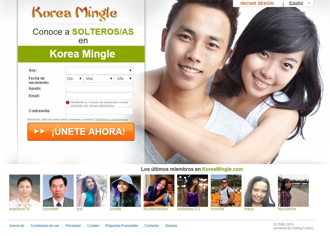 Korean Dating Website Free