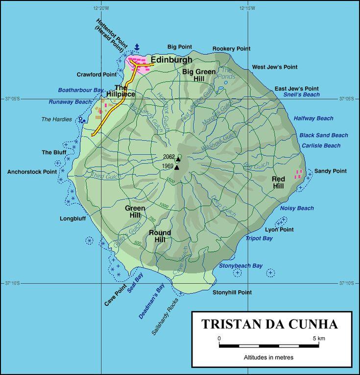 Tristan And Cunha Saint Ascension Helena Da