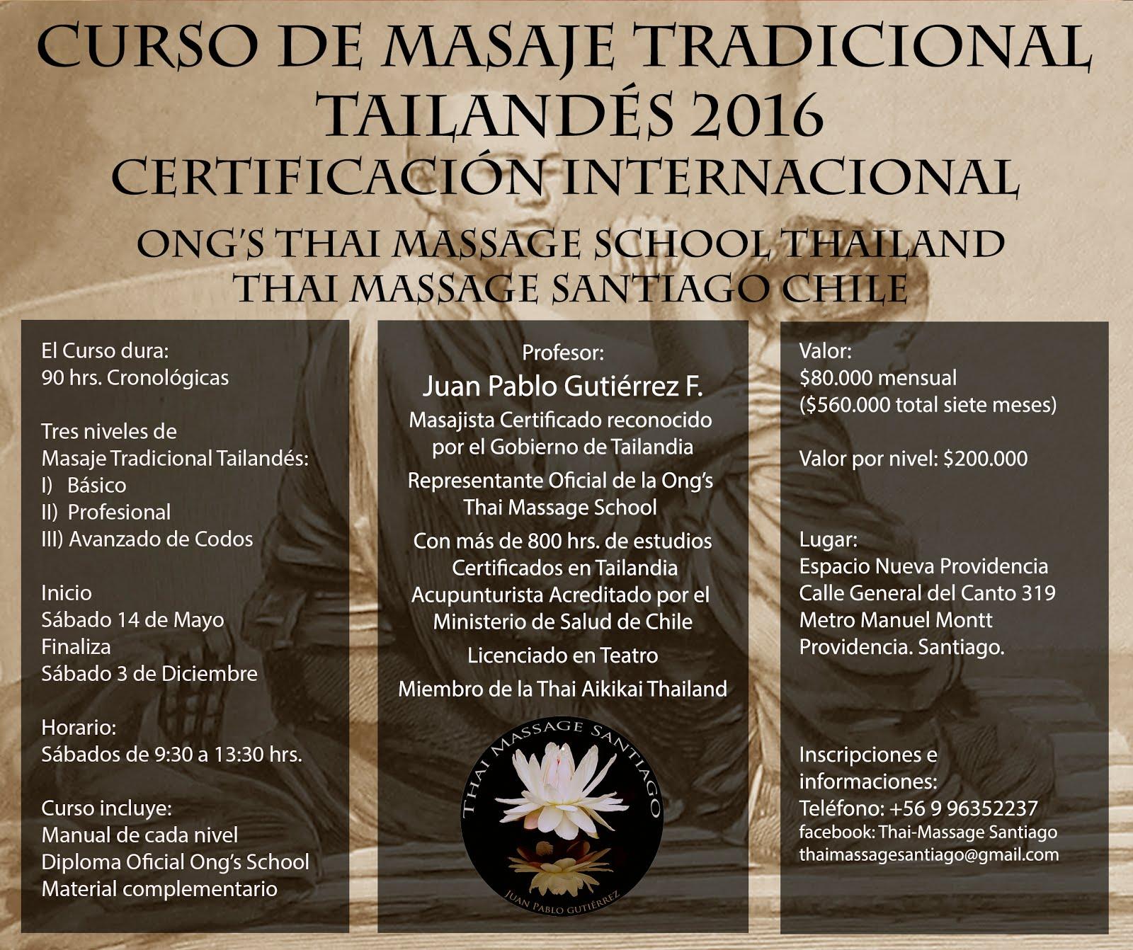 Massage Santiago Thai