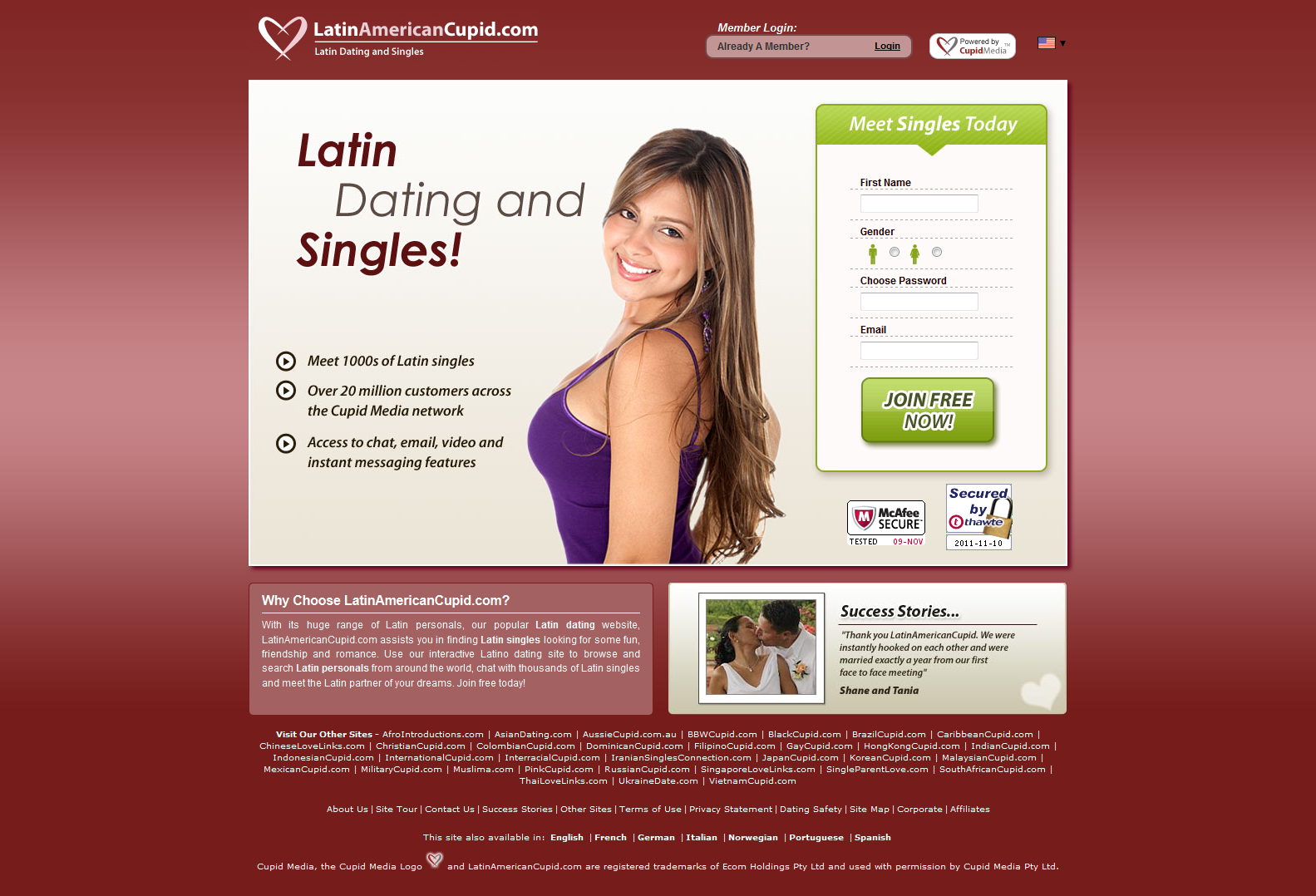 Singles Dating Alternative Spanish